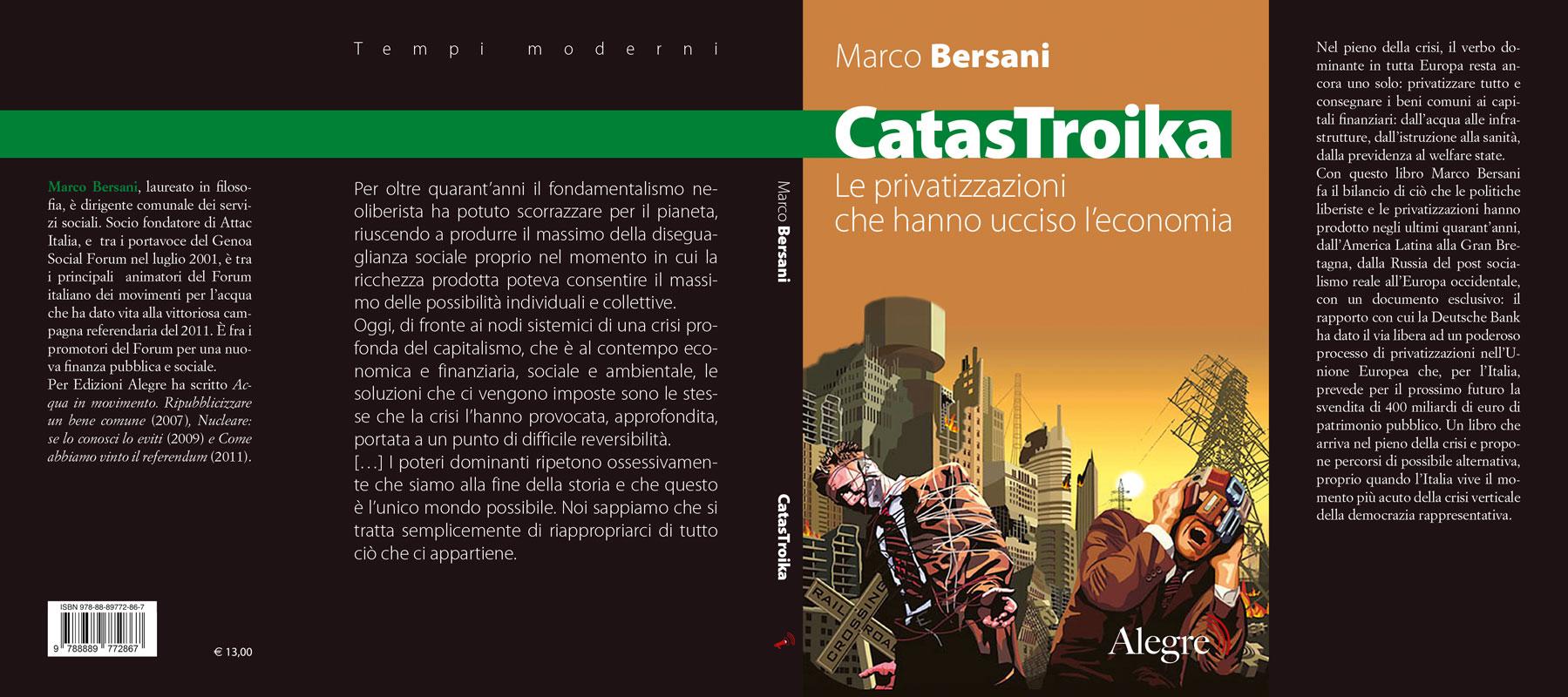 Marco Bersani, CatasTroika, stesa