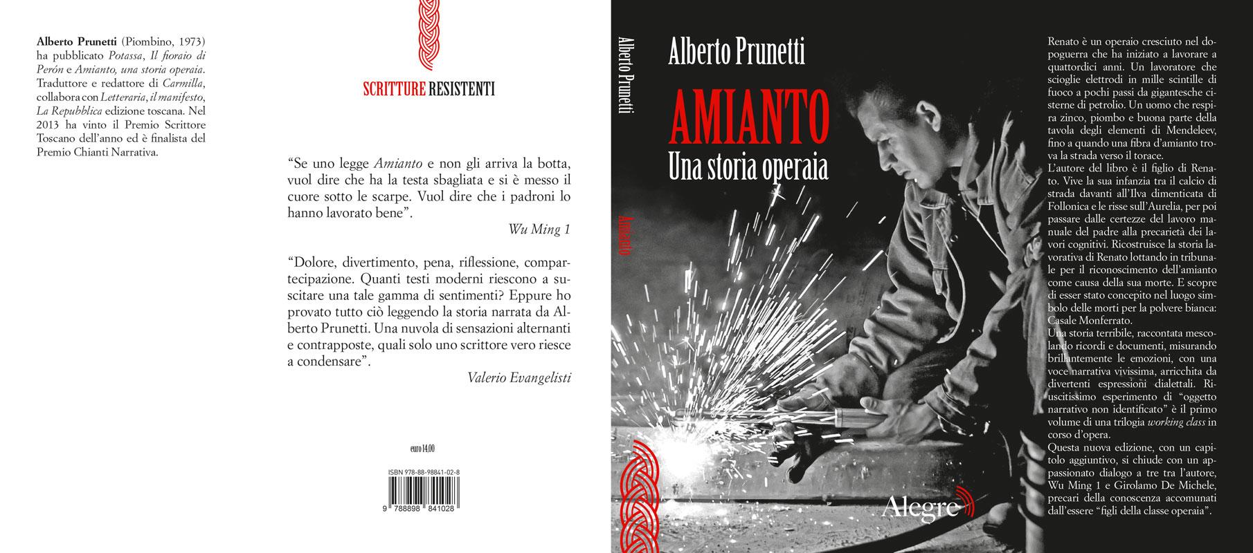Alberto Prunetti, Amianto, stesa