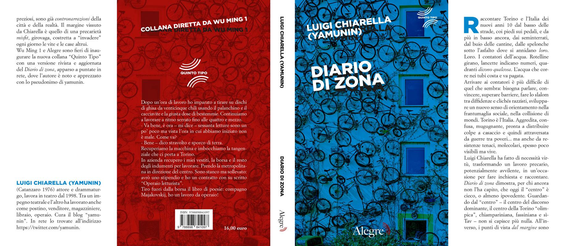 Luigi chiarella (Yamunin), Diario di zona, stesa