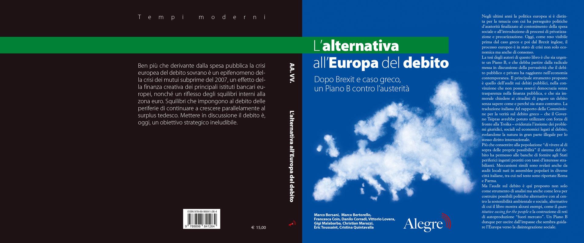Aa. Vv., L'alternativa all'Europa del debito, stesa