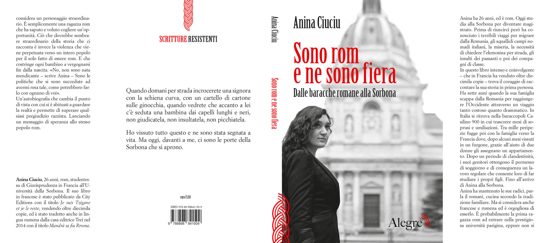 Anina Ciuciu, Sono rom e ne sono fiera, stesa