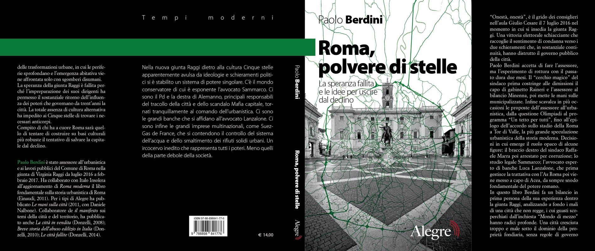 Paolo Berdini, Roma, polvere di stelle, stesa