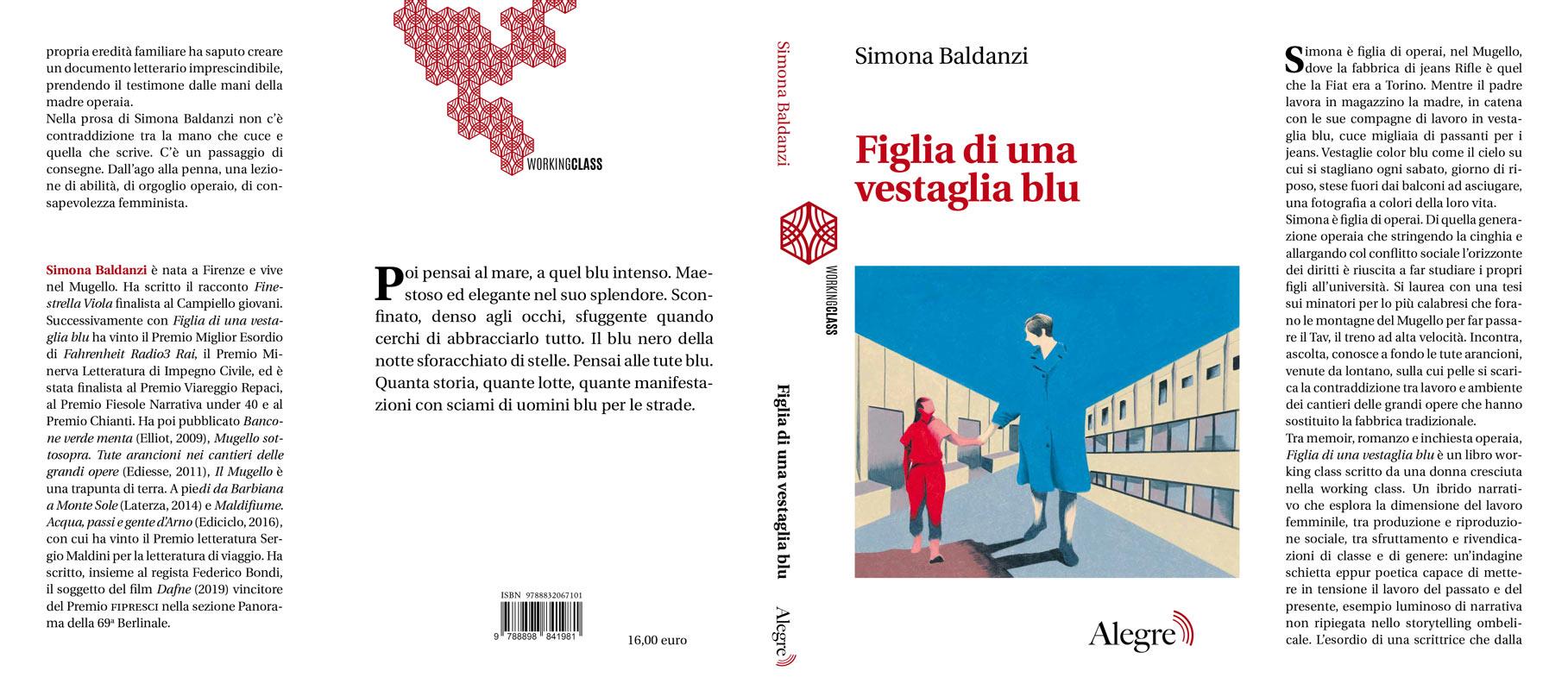 Simona Baldanzi, Figlia di una vestaglia blu, stesa