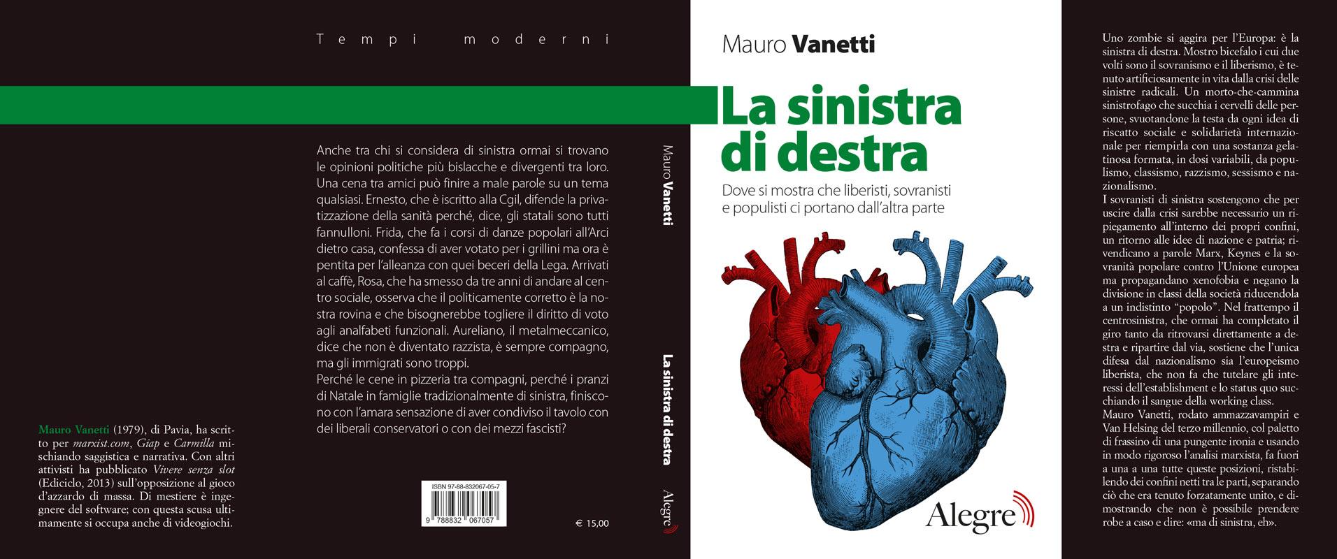 Mauro Vanetti, La sinistra di destra, stesa