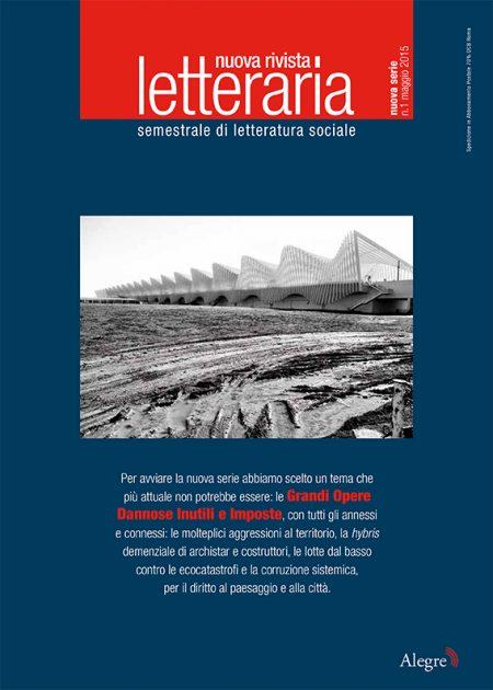 Nuova Rivista Letteraria, n. 1 nuova serie