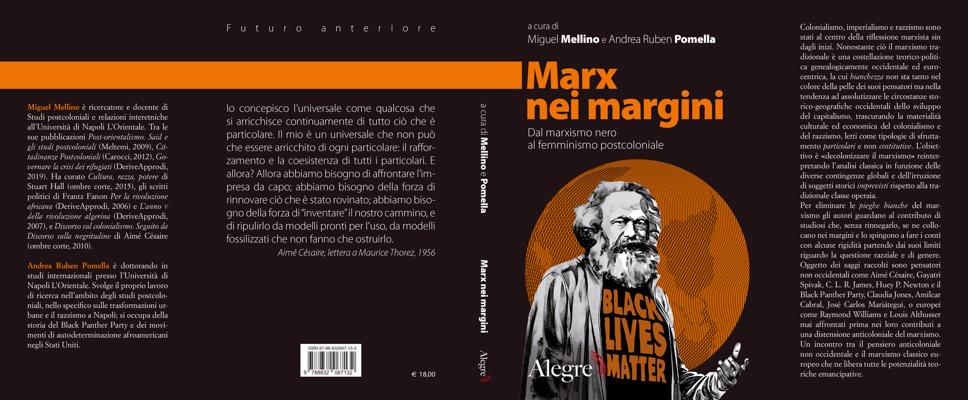 Marx nei margini copertina stesa